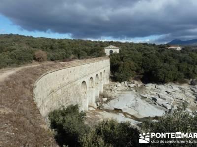Senda Genaro - GR 300 - Embalse de El Atazar; senderos la rioja